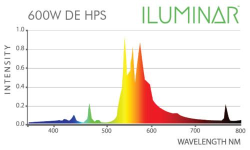 600 Watt HPS Spectrum