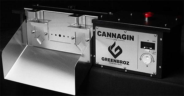 GreenBroz Cannagin 215 Destemmer