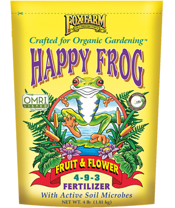 Happy Frog Fruit & Flower Bag