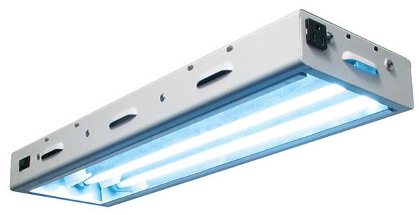 Sun Blaze T5 HO 22 - 2 ft, 2 Bulb Fixture with 6500K Bulbs