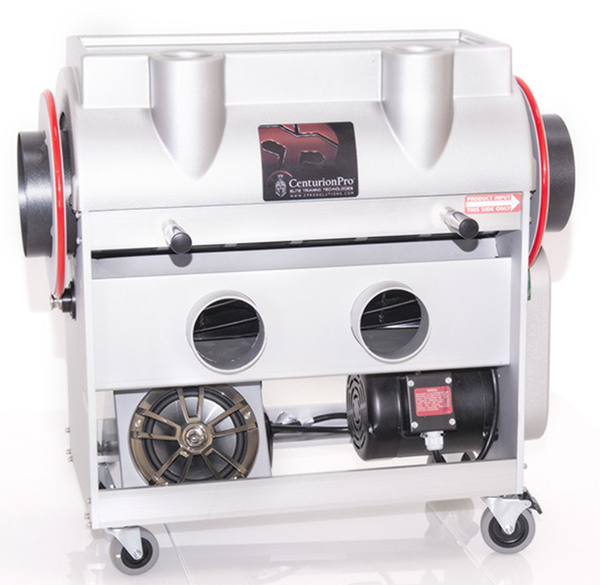 Medium size hobby growers and commercial farmers can use the CenturionPro Silver Bullet Trimming Machine to harvest fast