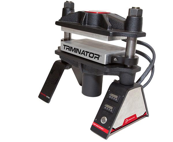 Triminator TRP Rosin Press 25 ton dual heat plates