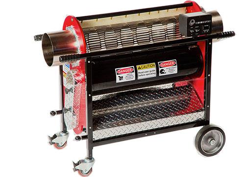 Triminator Wet Trimming machine processes 18-20 pounds an hour.