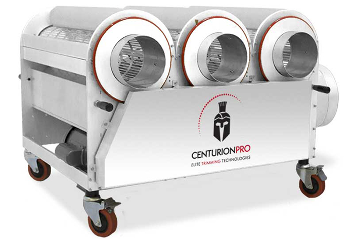 The CenturionPro 3.0 Medical Grade Trimmer provides industry best harvesting and trimming capabilities