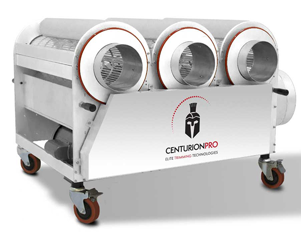 The CenurionPro 3.0 Medical Grade trimming machine is built for the most demanding harvests.