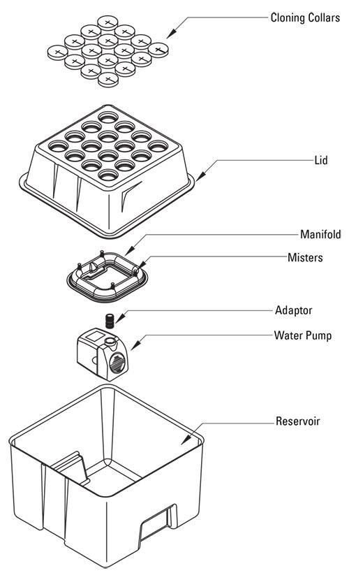 EZ-CLONE Assembly Instructions