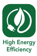 High Energy Efficiency