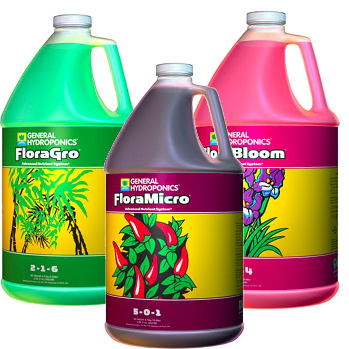 FloraFlex Hydroponic Nutrients Package