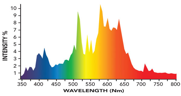 3100K Spectrum