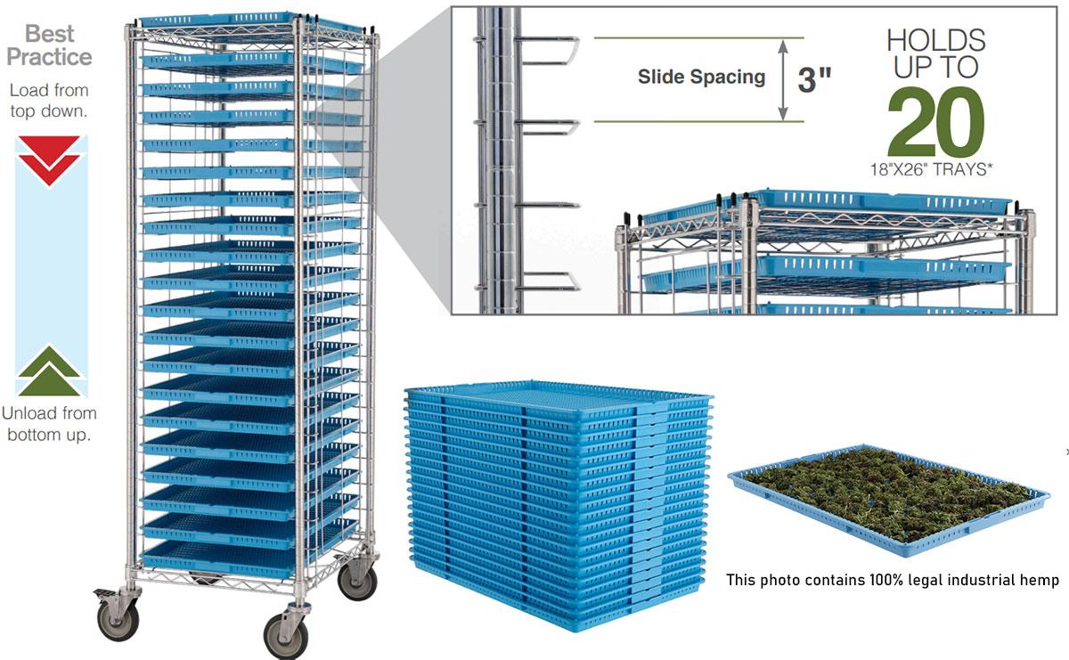 Metro Drying Racks & WavDri Trays