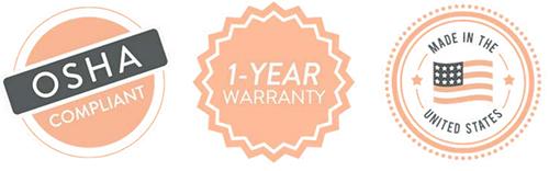 OSHA Compliance & Warranty