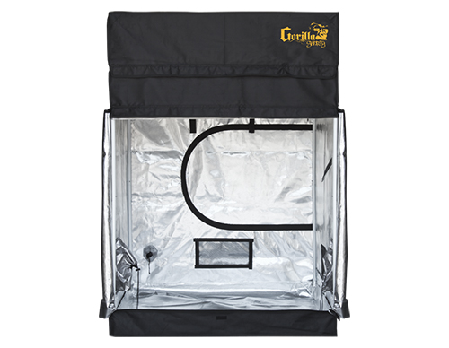 Gorilla Grow Tent - Shorty Line - 4u0027 x 4u0027 Heavy Duty Grow Tent  sc 1 st  Hydrobuilder.com & Gorilla Grow Tent Shorty 4u0027 x 4u0027 Fluorescent T5 Veg Soil Grow Tent Kit
