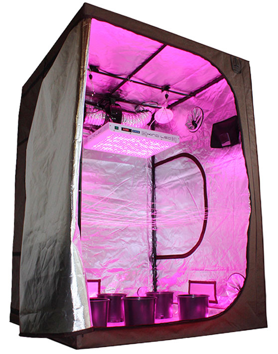 Grow tent kits are light proof self contained grow areas for indoor gardening  sc 1 st  Hydrobuilder.com & Grow Tent Kits u0026 Complete Grow Packages