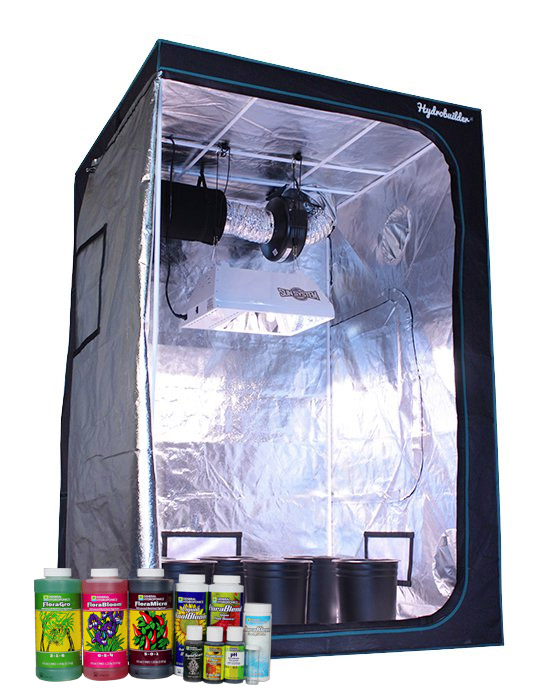 Grow tent kits are light proof self contained grow areas for indoor gardening  sc 1 st  Hydrobuilder.com & Grow Tent Packages