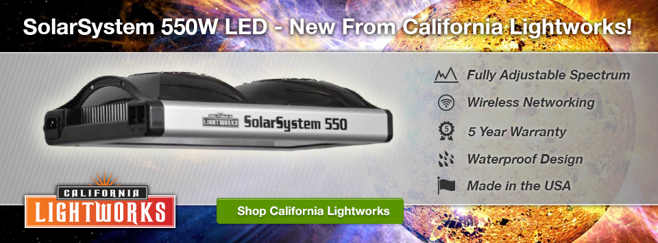 New 550W LEd Lights from California Lightworks