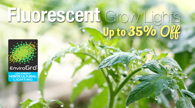 Fluorescent Grow Light Sale