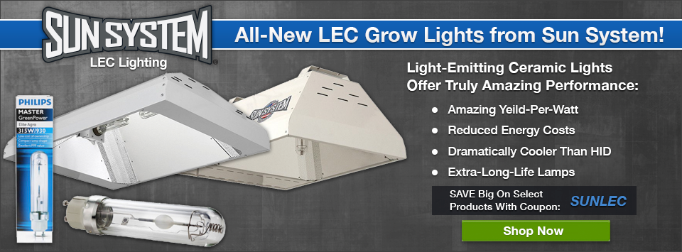 Sun System LEC Lighting on Sale