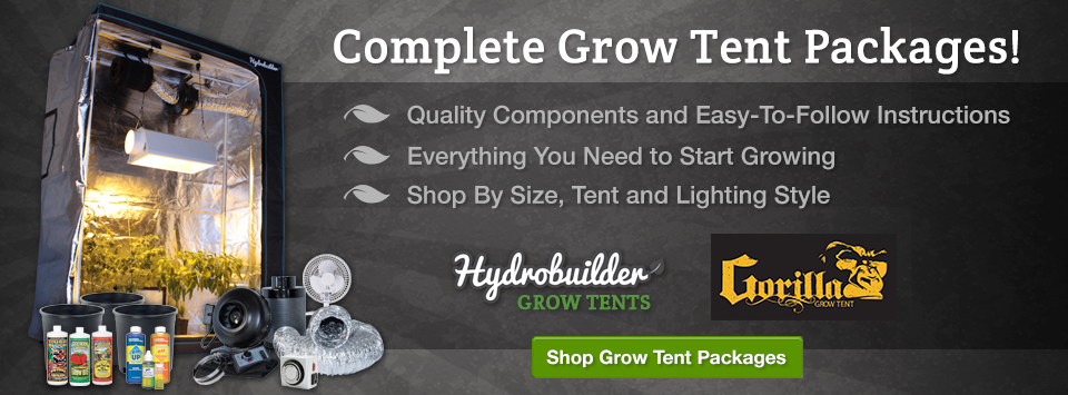 Grow Tent Packages on Sale