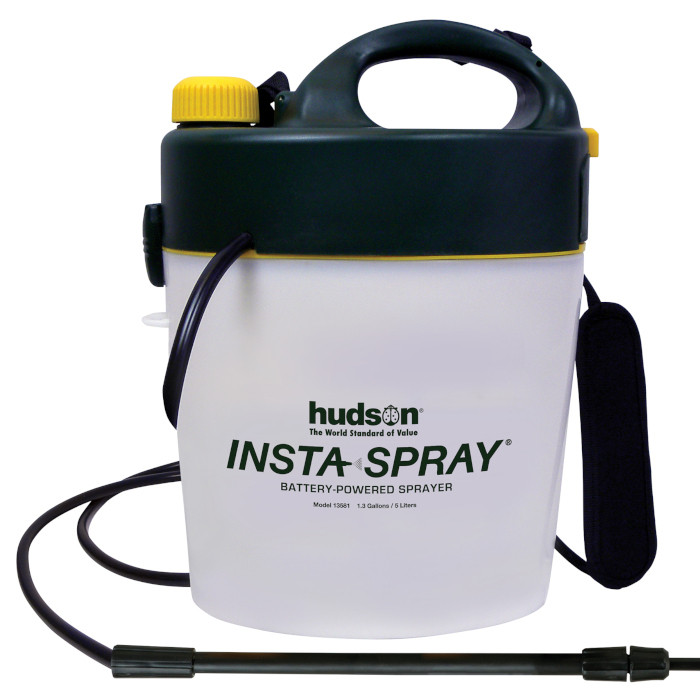 Best Electric Handheld Garden Sprayer - Hudson Insta-Spray 1.3 Gallon Garden Sprayer