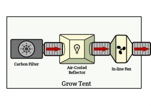 how to setup your ventilation system with grow lights
