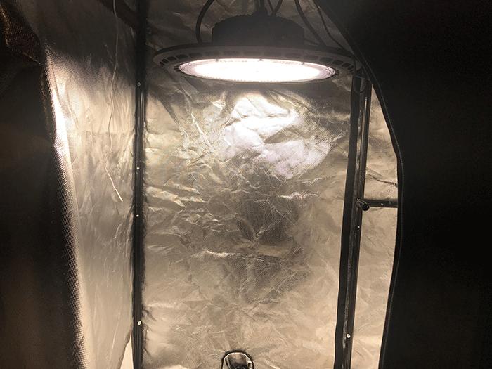 Covert UFO in a closet