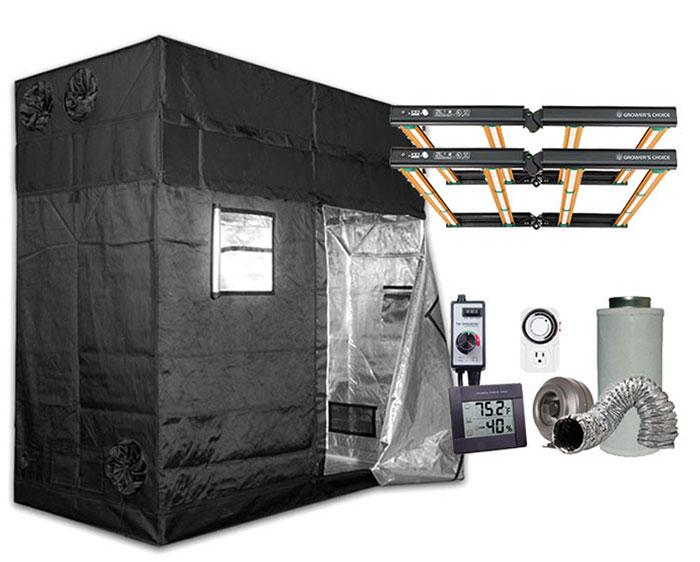 Gorilla Grow Tent 4' x 8' Growers Choice ROI-E420 LED Grow Tent Kit
