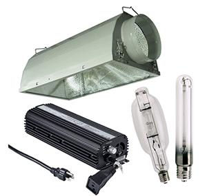 HBX Air Cooled Economy HID Grow Light Kits