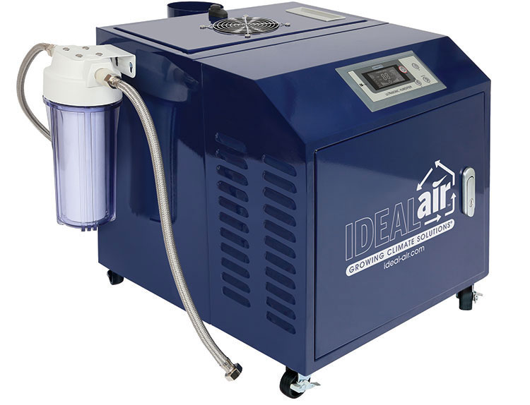Best For Small & Medium Commercial Growers - Ideal-Air Pro Ultra Sonic Humidifier