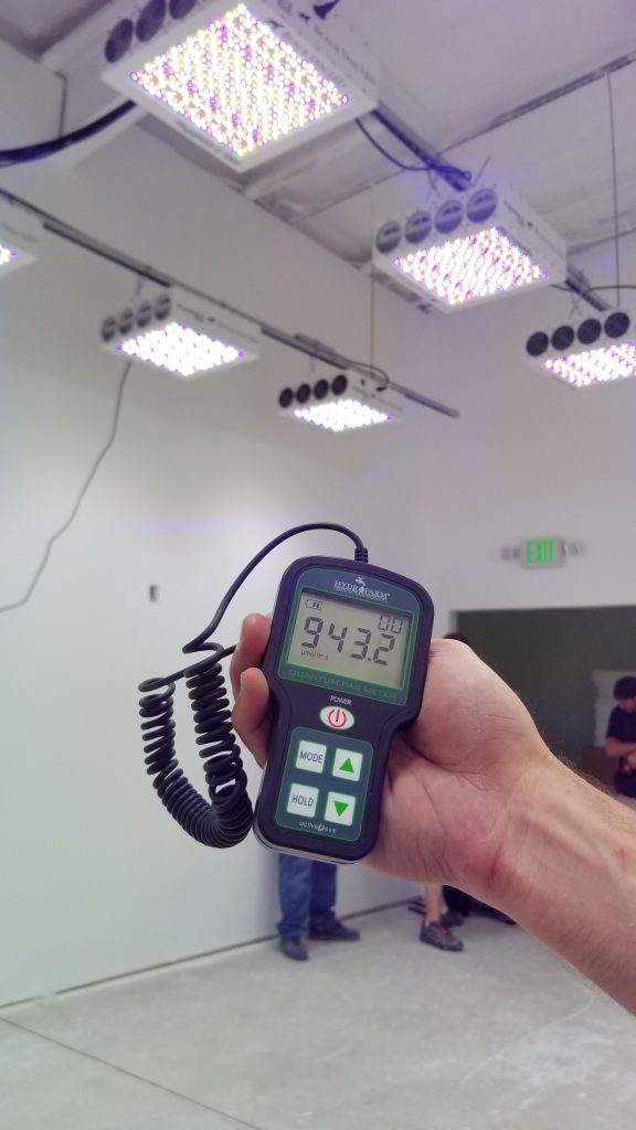 How to use a PAR meter to measure grow lights