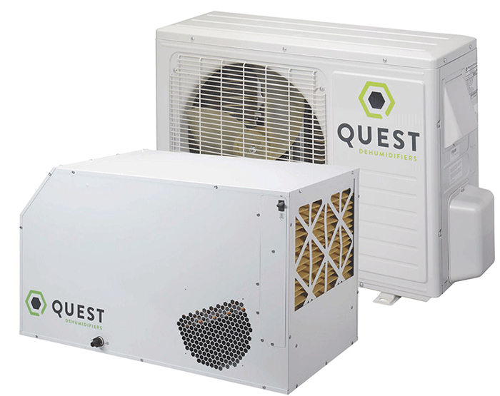 Best Overall Unit - Quest Overhead Dehumidifiers