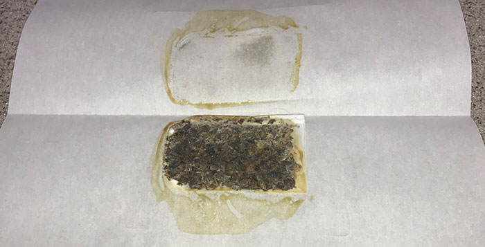 pressing rosin from bubble hash