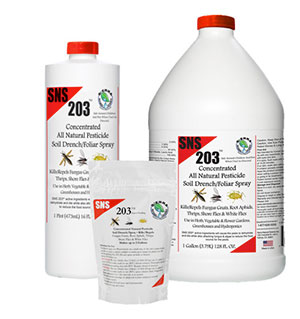 Sierra Natural Science 203 Pesticide Concentrate