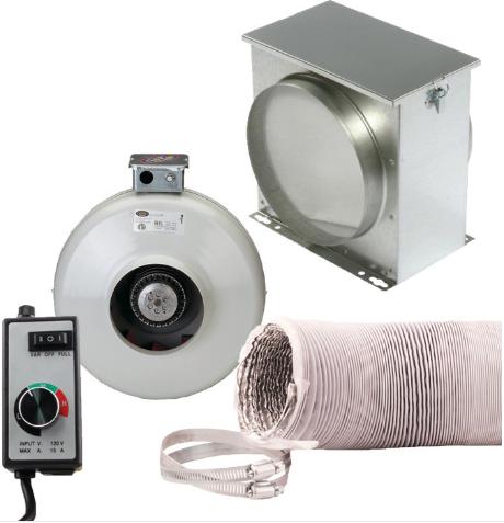 Intake ventilation kit