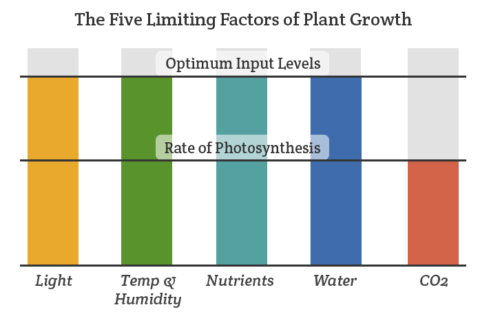 indoor growing environment chart