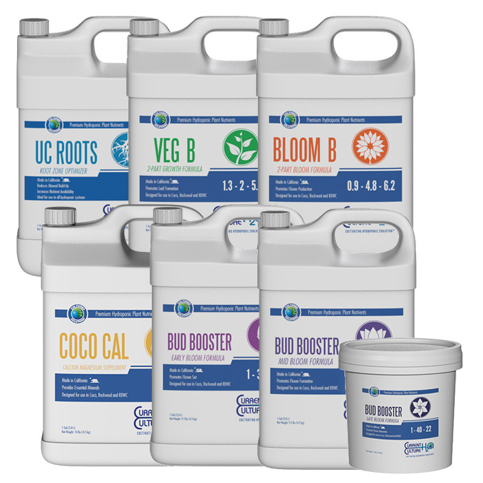 Cultured Solutions Premium Hydroponic Nutrient Package