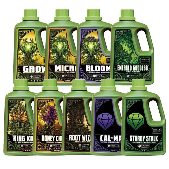 Emerald Harvest Pro 3 Part Nutrient Package