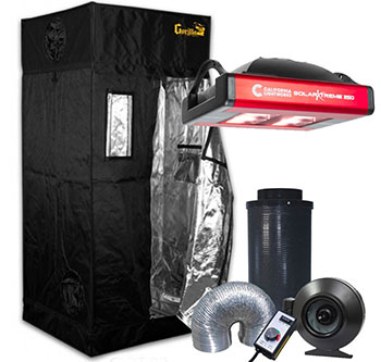 Gorilla Grow Tent 3' x 3' California LightWorks LED Grow Tent Kit