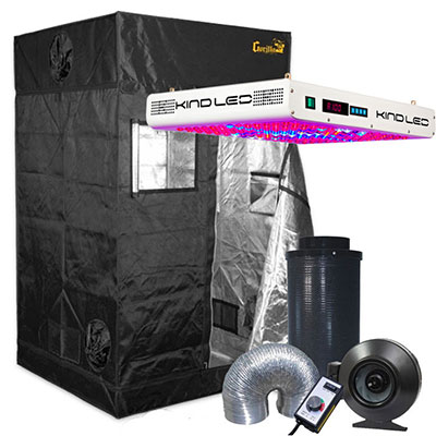 Gorilla Grow Tent 4' x 4' KIND LED Grow Tent Kit