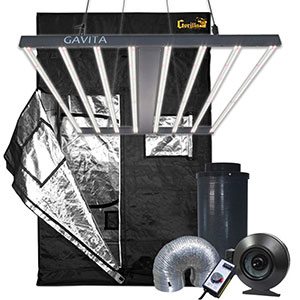 Gorilla Grow Tent 5' x 5' Gavita LED Grow Tent Kit