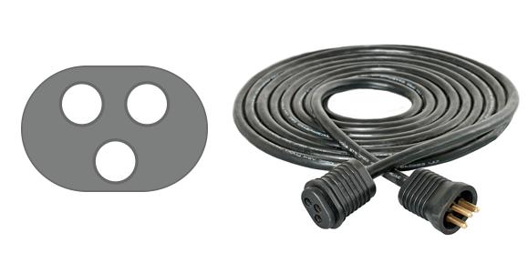 Hydrofarm Reflector Plug and Cord