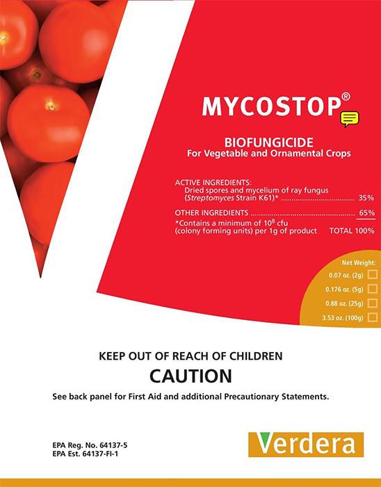 Mycostop, a biological fungicide:
