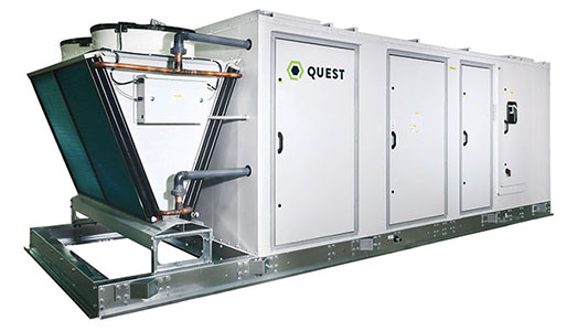 Best For Commercial Grows - Quest IQ Series HVAC Dehumidifier Systems
